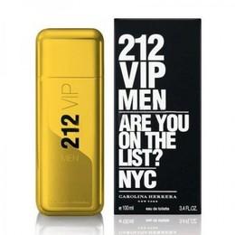 Carolina Herrera 212 VIP Men Gold 100 ml